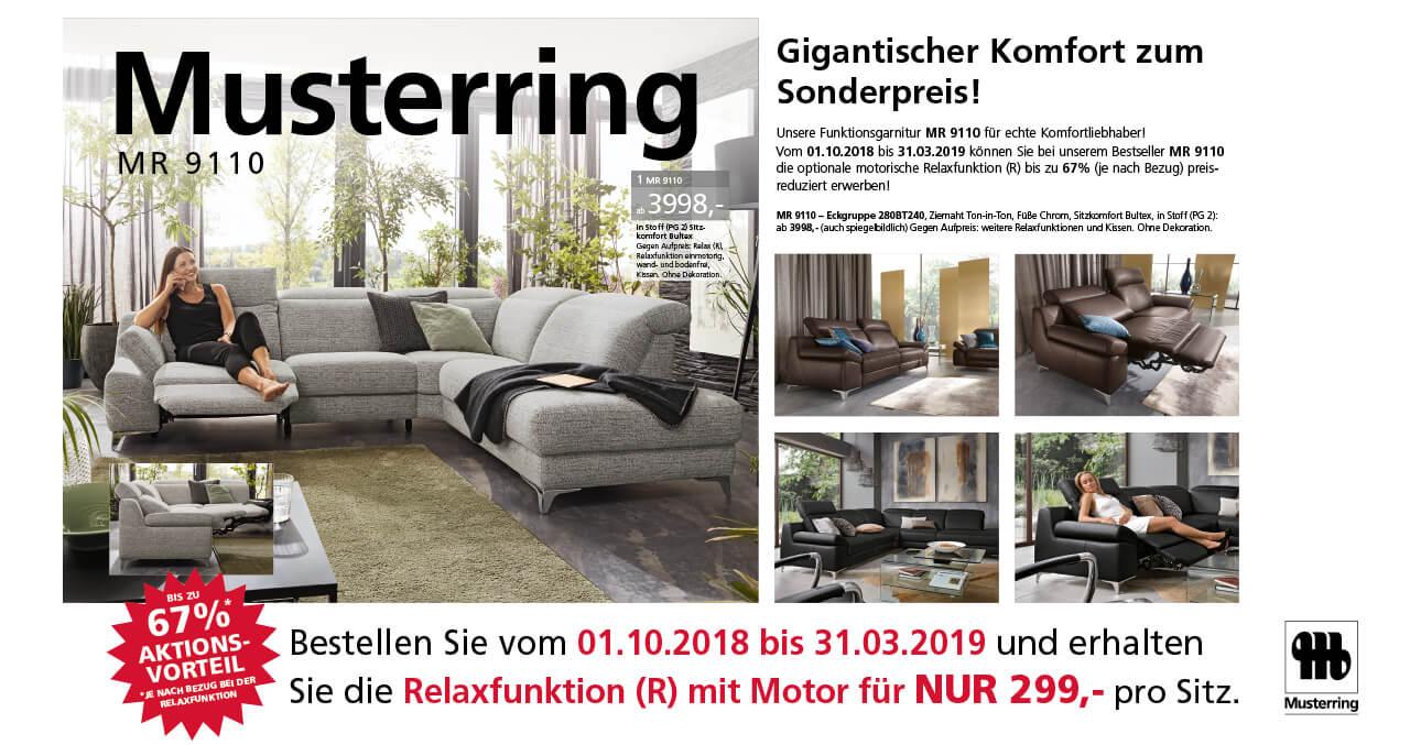 Funktionsgarnitur Mr 9110 Mit Relaxfunktion Möbelhaus Würzburg