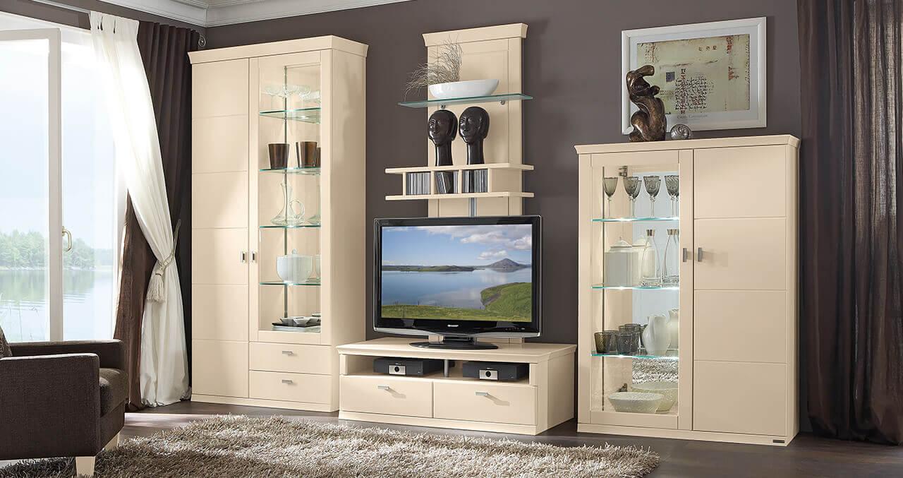 musterring wohnwand q media interessante ideen f r die gestaltung eines raumes in. Black Bedroom Furniture Sets. Home Design Ideas